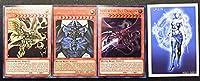 遊戯王 エジプトの神カードセット オルタネイトアート プロモス すべてリアル ファンタズムゲームトークン付き