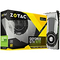 Zotac GeForce GTX 1070 Founders Editionグラフィックスカード8 GB gddr5 zt-p10700 a-10p ZT-P10700A-10P