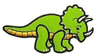 【ノーブランド品】 キュート 恐竜 アイロン ワッペン 刺繍 パッチ ワッペン