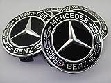 Mercedes-Benz メルセデス・ベンツ純正 センターキャップ ハブキャップ グロスブラック ローレルリース