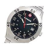WENGER ウェンガー メンズ 腕時計 GRENADIER グレネーダー 72966W(BK)