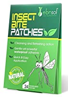 After Insect Bite Patches? - Natural After Insect Bite Cosmetic Patches ? Reduce Appearance of Redness & Itching ? Protect Affected Area ? 100% Satisfaction Guarantee