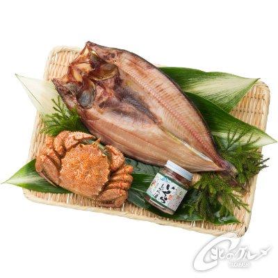 【海鮮市場 北のグルメ】 冷凍 人気海鮮3点セット (毛がに、しまほっけ、いくら) ギフト 贈答 北海道