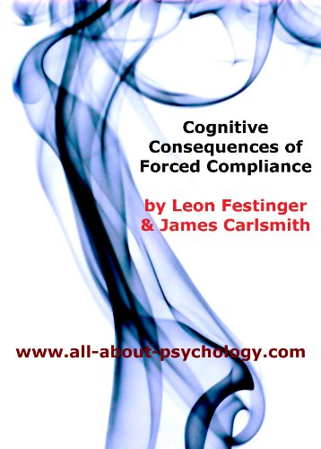 cognitive dissonance classic in psychology