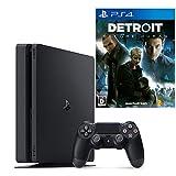 【プライムデーセール対象商品】PlayStation 4 ジェット・ブラック 500GB + Detroit: Become Human セット