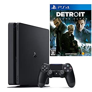 PlayStation 4 ジェット・ブラック 500GB + Detroit: Become Human セット