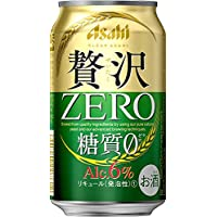 【糖質ゼロ アルコール6%】クリアアサヒ 贅沢ゼロ [ ビール [ 350ml×24本 ] ]