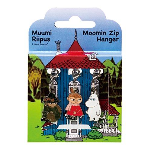 フィンランド 土産 ムーミン ジップハンガー 3コセット (海外旅行 フィンランド お土産)