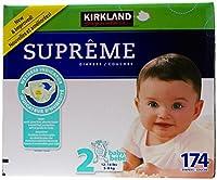 Kirkland Diapers - Size 2 - 174 ct by Kirkland Signature