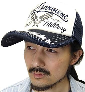 (アルファ インダストリーズ) ALPHA INDUSTRIES INC 帽子 メンズ キャップ ストリート ベースボールキャップ メッシュ 迷彩 3color Free ネイビー