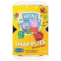 Heinz Peppa Pig Pasta Shapes In Sauce 190g - (Heinz) 醤油190グラムでペッパピッグパスタ形状 [並行輸入品]
