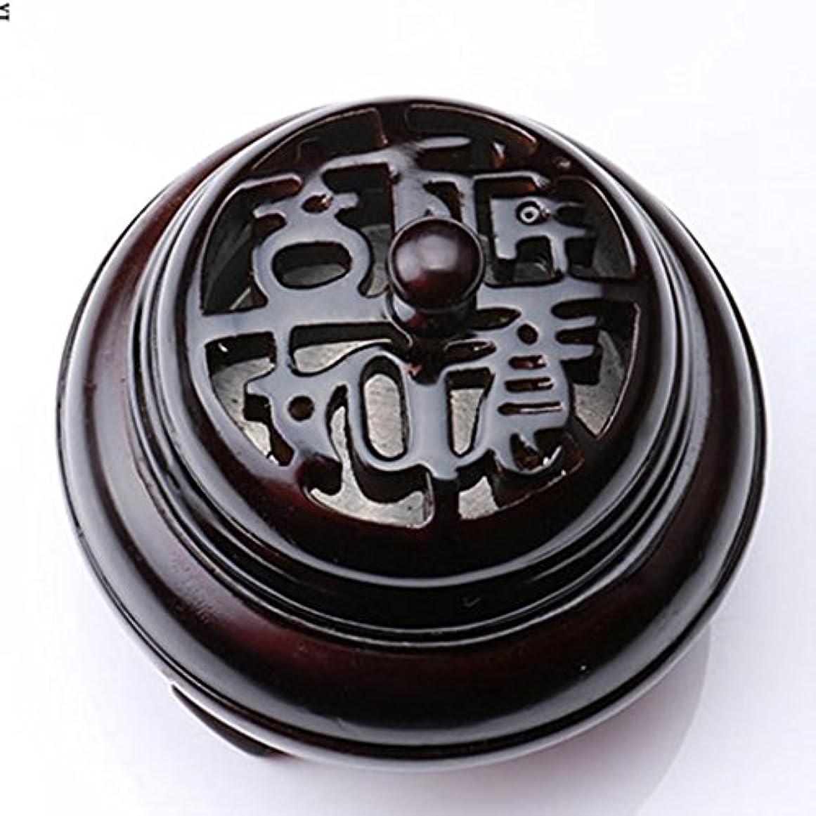 長老指ソーシャル(ラシューバー) Lasuiveur 香炉 香立て 渦巻き線香 線香立て お香立て 木製