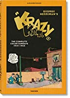 George Herriman's Krazy Kat: The Complete Color Sundays 1935-1944, XXL