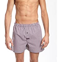Mitch Dowd Men's Underwear Smithson Yarn Dyed Cotton Boxer Short