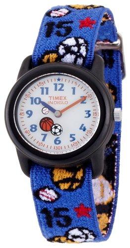 キッズ腕時計 キッズアナログ エラステックストラップ T75201 キッズサイズ タイメックス