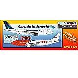 SKY144-02b 1/144 A300B4 ガルーダインドネシア航空 & TNT航空 プラスチックモデルキット