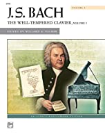 Bach -- The Well-Tempered Clavier Vol 1: Comb Bound Book (Alfred Masterwork Edition) [並行輸入品]