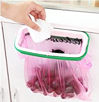 Dirza Trash Bag Holder for Kitchen Cabinet Garbage Bags Hanging Rack by Dirza