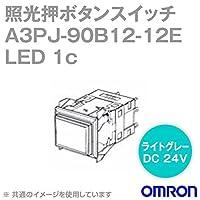 オムロン(OMRON) A3PJ-90B12-12EO 照光押ボタンスイッチA3Pシリーズ (橙) (長方形・無分割) (LED) (オルタネイト) NN