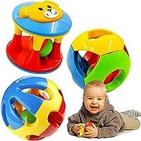 2pcs Baby Fun Little Loud Jingle Ball RattlesおもちゃリングJingle Develop Baby Intelligenceベビーおもちゃギフト
