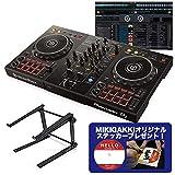 Pioneer DJ パイオニア DDJ-400 DJコントローラー + PCスタンドセット