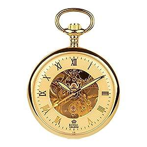 [ロイヤルロンドン]ROYAL LONDON 懐中時計 ポケットウォッチ オープンフェイス 手巻き 90002-03 【正規輸入品】