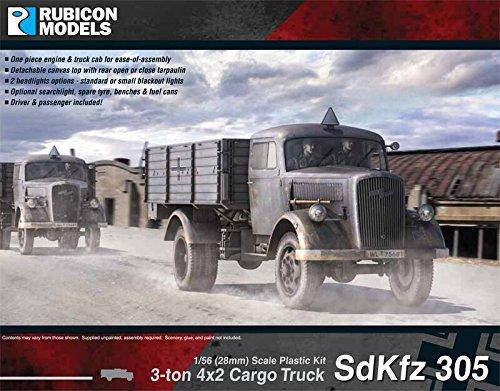 Rubicon Models RUBICON MODELS 1/56 SdKfz 305 3tカーゴトラック / RB0026