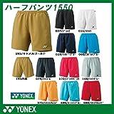 (ヨネックス) YONEX Uni ベリークールハーフパンツ 1550 ソフトテニス & バドミントン ウェア SS 007/ブラック