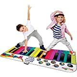 Rainbow Colours Rainbow Giant Piano Mat,Musical Activity Music Set