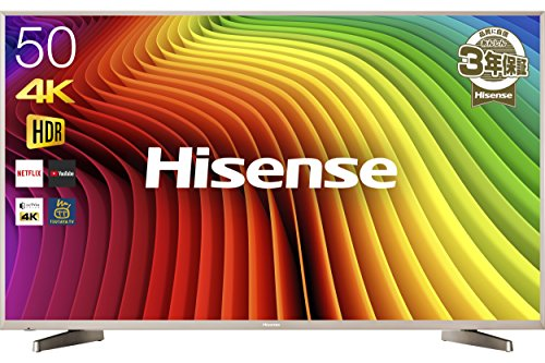 ハイセンス 50V型 4K対応 液晶 テレビ  HJ50N5...