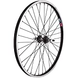 Wheel Master Rear Bicycle Wheel 24 x 1.75 36H, Alloy, Bolt On, Black by WheelMaster