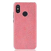 Xiaomi Mi 8 ケース、Scheam 高級感 薄型 携帯カバー フォンケース アンチスクラッチ 耐衝撃Xiaomi Mi 8 保護ケース(Pink)