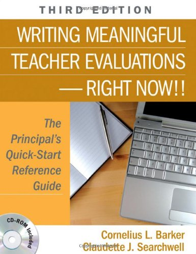Download Writing Meaningful Teacher Evaluations-Right Now!! 1412960118