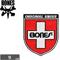ボーンズ BONES スケボー ワッペン SWISS SHIELD PATCHNO2
