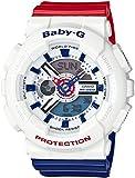 [カシオ]CASIO 腕時計 BABY-G White Tricolor Series BA-110TR-7AJF レディース