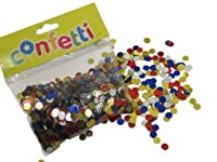 Dazzling Toys Assorted Colorful Party Confetti Circles. Super Party Decoration! [並行輸入品]