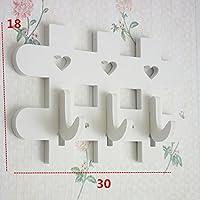 ウォールハンガー LOVE手紙中空壁の装飾防水無味釘のインストール(白3スタイル2サイズが利用可能) TINGTING (サイズ さいず : C-small)