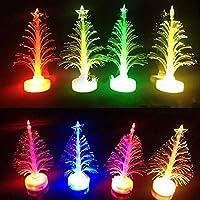 クリスマスツリー クリスマスグッズ クリスマス飾り 可愛い LEDイルミネーションライト 七色光 プレゼント 卓上 オーナメント セット
