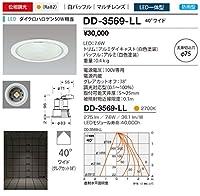山田照明/ダウンライト 軒下照明 DD-3569-LL ダクトプラグ