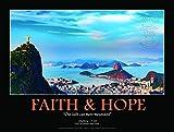 Faith and Hope。キリスト像。