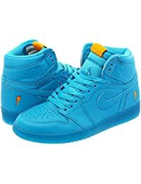 [ナイキ] NIKE AIR JORDAN 1 RETRO HIGH OG G8RD BLUE LAGOON/BLUE LAGOON 【GATORADE】 【LIKE MIKE】 [並行輸入品]