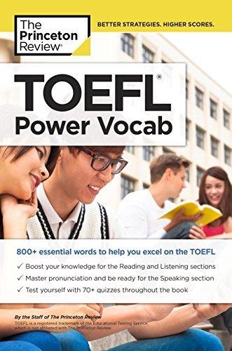 TOEFL Power Vocab (College Test Preparation)