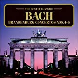バッハ:ブランデンブルク協奏曲第4、5、6番