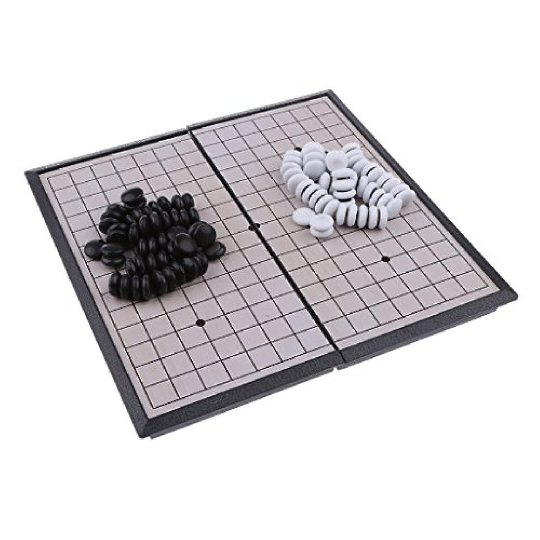 Blesiya 磁気 折り畳み チェスボード プロフェッショナル 知育  贈り物 中国チェス
