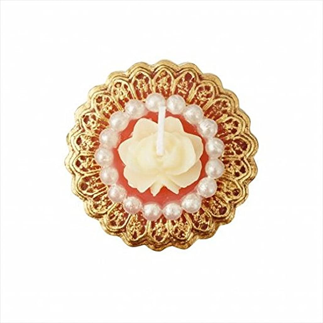 もちろん化粧厳密にカメヤマキャンドル(kameyama candle) アンティークジュエリー 「 ピンクローズシェル 」