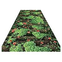 ZEMIN 廊下敷きカーペッ ふさふさした エリア カーペット キッチン 回廊 じゅうたん 転倒防止 マット リバウンド、 2色、 マルチサイズカスタマイズ可能 (色 : A, サイズ さいず : 0.6x10m)