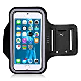 NIKE 通販 Tribe AB66 防水スポーツアームバンド iPhone 7Plus 6Plus 6s Plus(5.5インチ) Galaxy S6/S5 Note 4 画面プロテクター付き  鍵の収納が可能 AB66