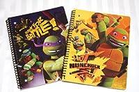 2Teenage Mutant Ninja Turtles TMNTノートブック- Mikey & Donnie