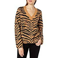 Rails Womens 822-309A-1704 Eleanor Long Sleeve Sweater - Brown