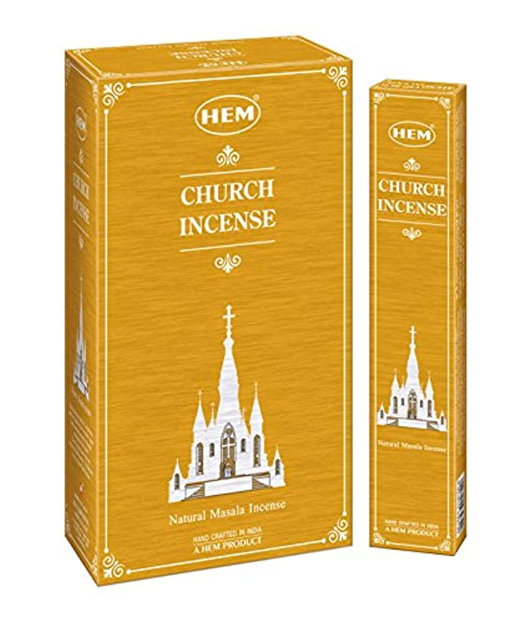アカデミック下向き強調Hemお香新しくLaunched Exclusive Fragrance教会Masala Incense Sticksのセット12ボックス、15グラム各)